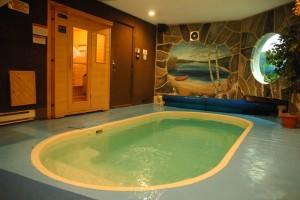 Chalet avec piscine intérieure dans les Laurentides