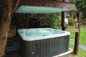 Chalet avec spa dans les Laurentides